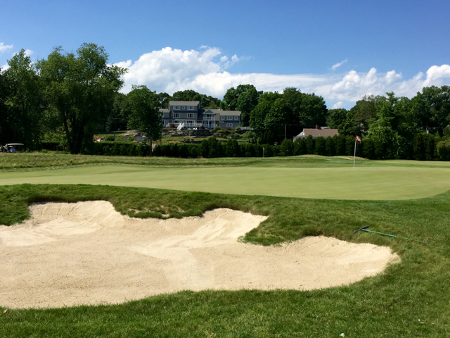 Madison greenside bunker