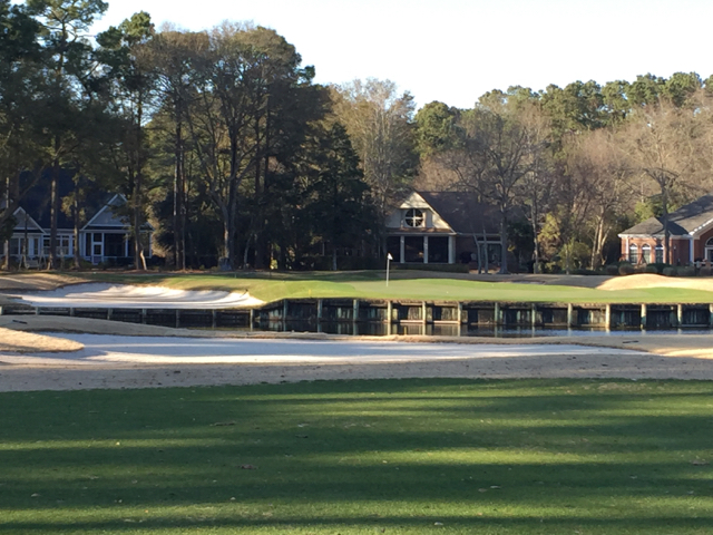 Pawleys 10 approach