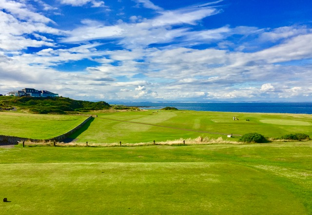 Crail Balcomie 17th tee