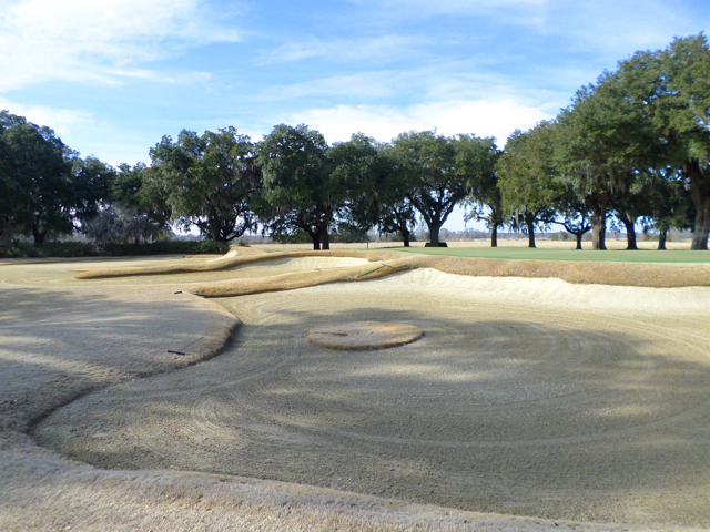 Caledonia Golf Club Sand Bunker