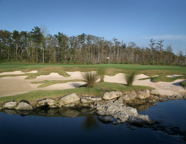 Cape Fear National 8th green
