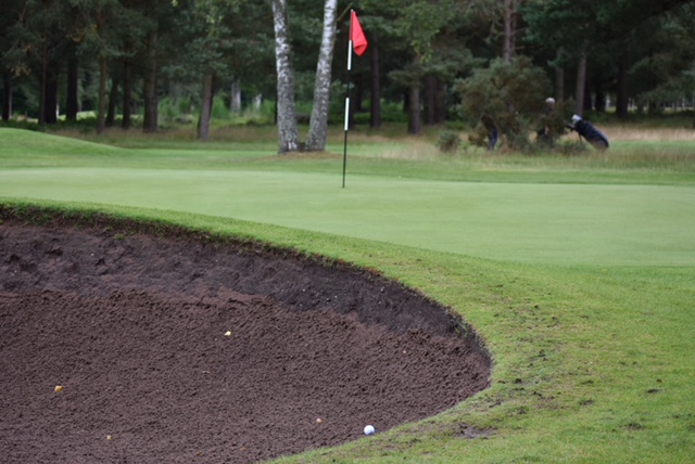 Ladybank Golf Club Deepest Darkest Sand Ever