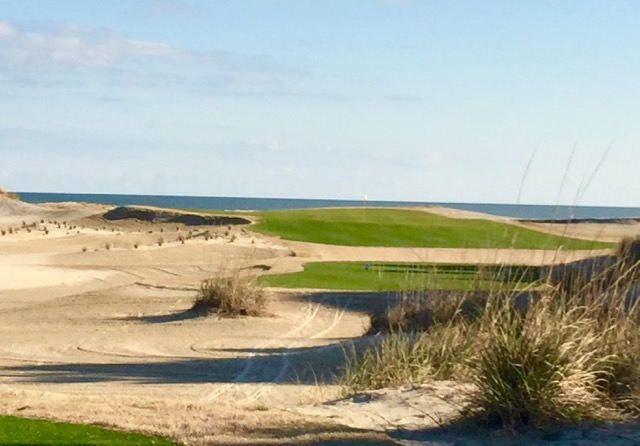 The finishing holes at Wild Dunes on the Isle of Palms provide plenty of great views as well as wind gusts.