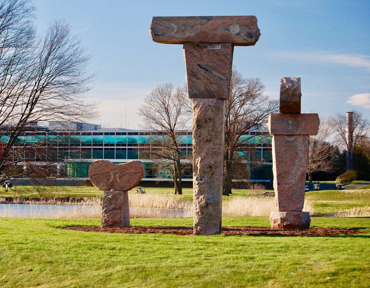 Gillette Ridge sculptures 1